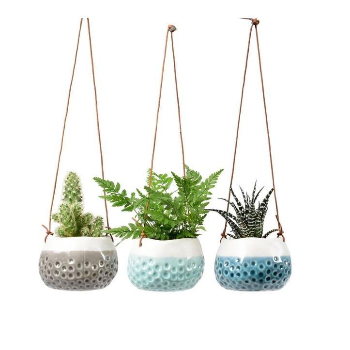 Hanging Plant Pot, Set of 3