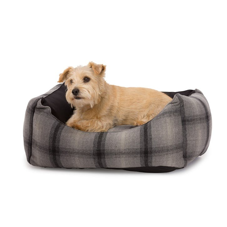 Tweed & Water Resistant Rectangle Bed - Large