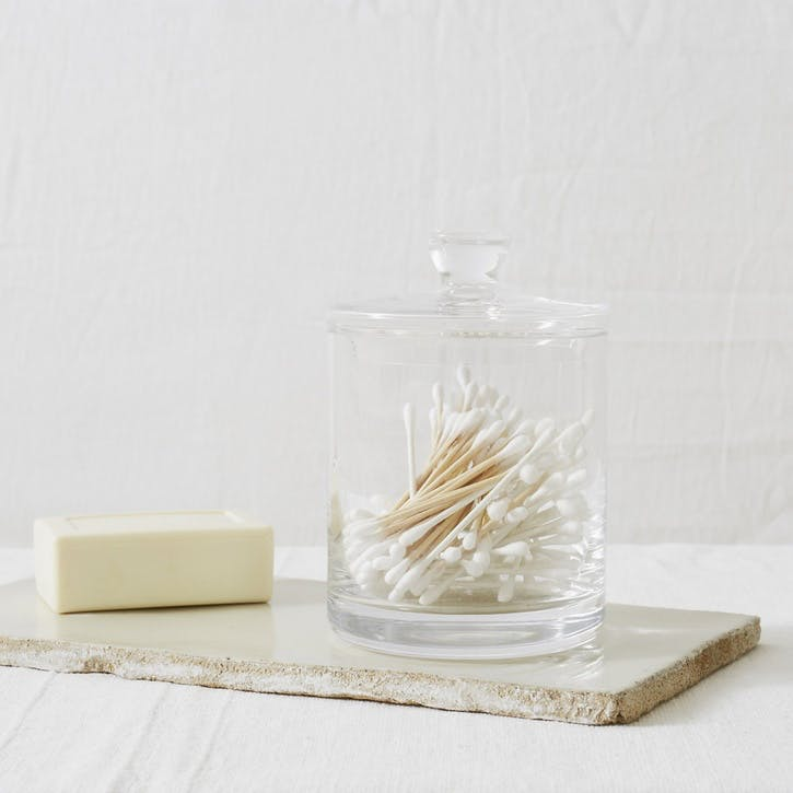 Glass Storage Jar, Tall