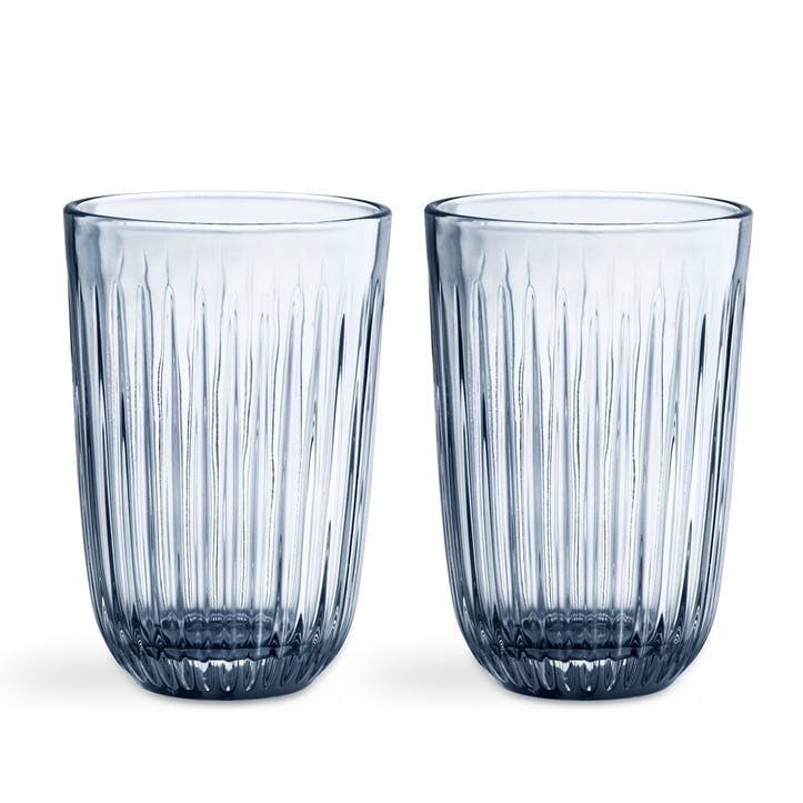 Hammershøi Tumbler, Set of 2, Indigo