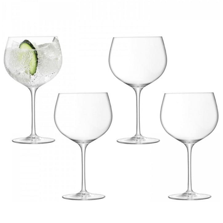 Gin Balloon Glass Set of 4, 680ml