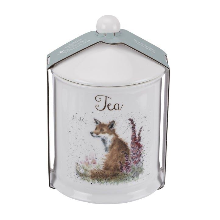 Wrendale Tea Canister; Fox
