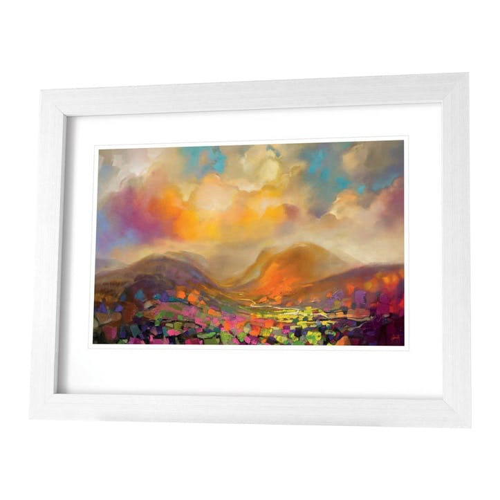 Scott Naismith Nevis Framed Print, 71 x 91cm