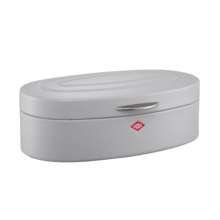 Elly Bread Bin, Matt Cool Grey