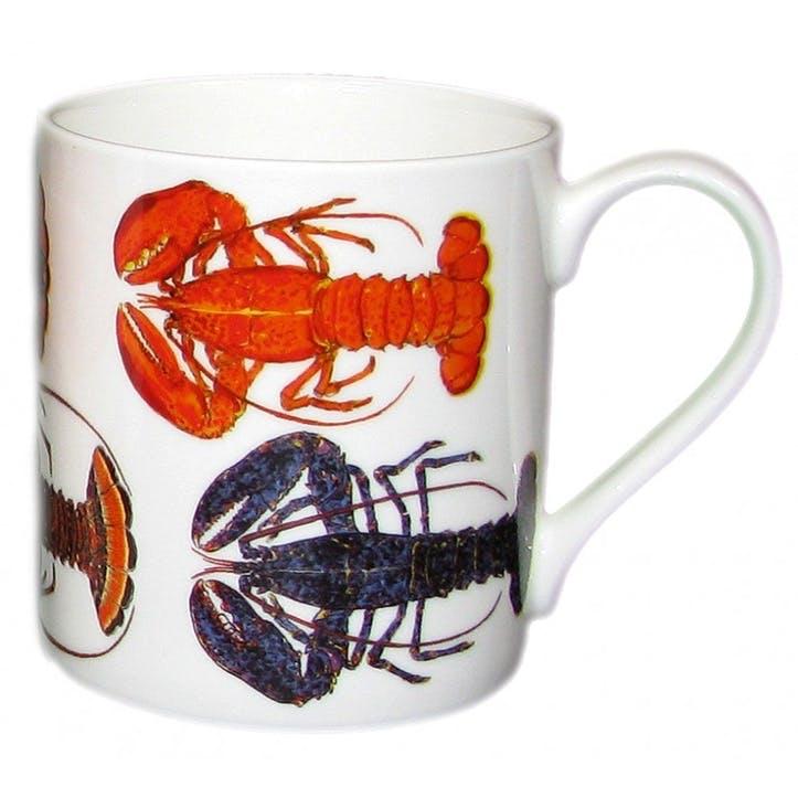 Multi Lobster Large Mug - 9cm x 8cm