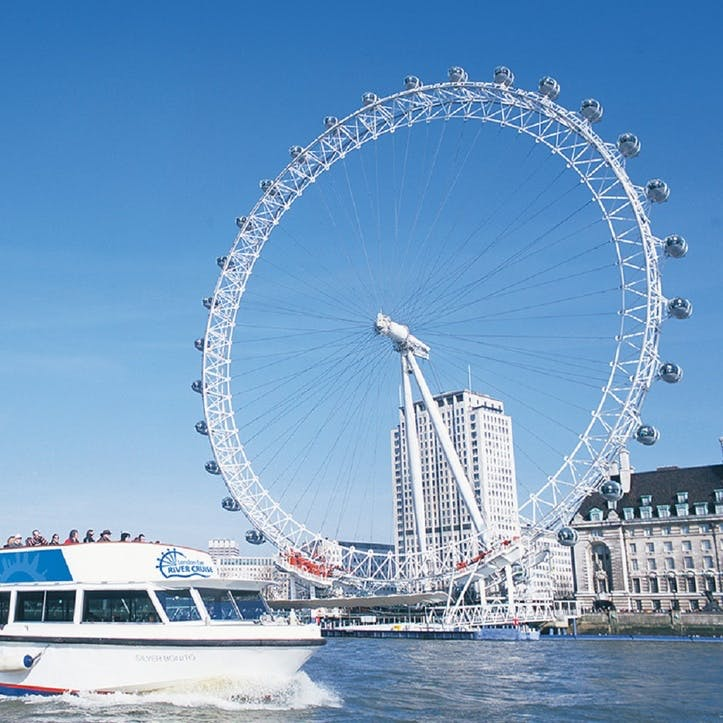 Visit the London Eye with the London Eye River Cruise for Two