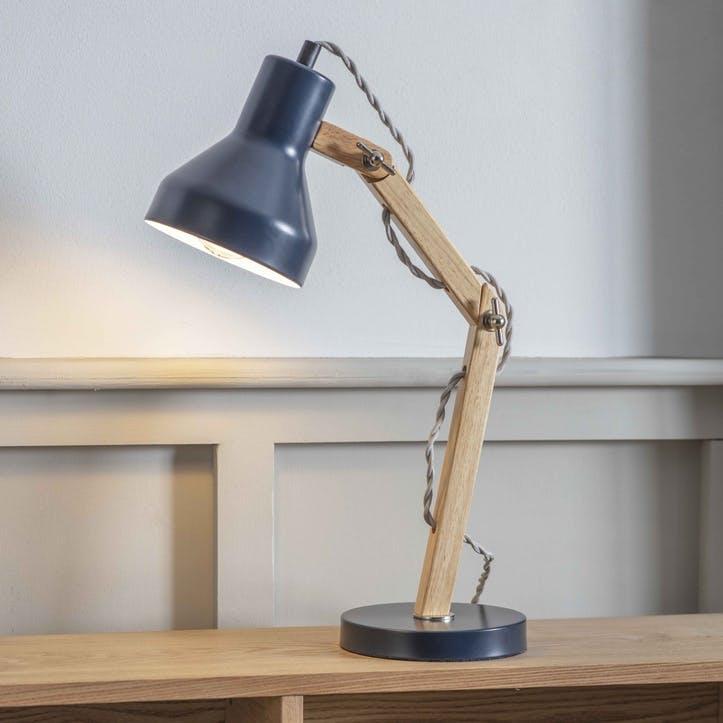 Folgate Desk Lamp, Ink