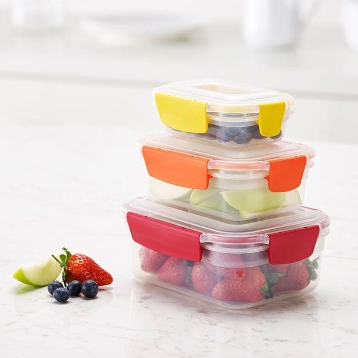 Nest Storage Box, Set of 3, Multi-Colour