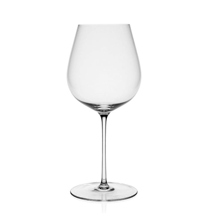 Starr Burgundy White Wine Glasses, Set of 4