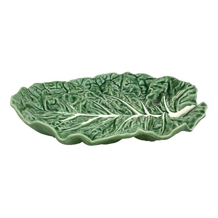 Cabbage Fruit Bowl, 37cm, Green