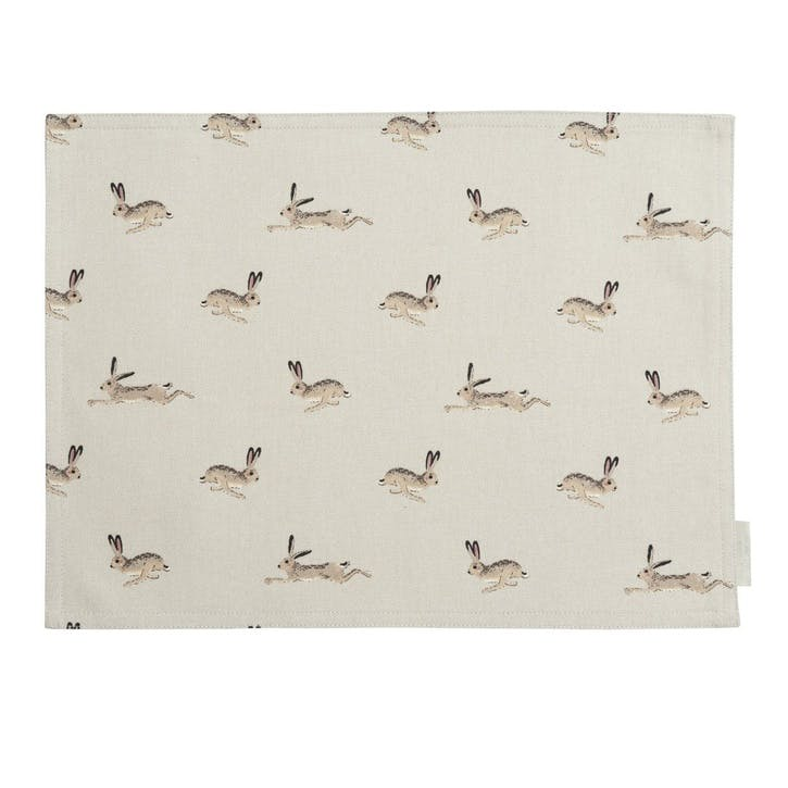 'Hare' Fabric Placemat