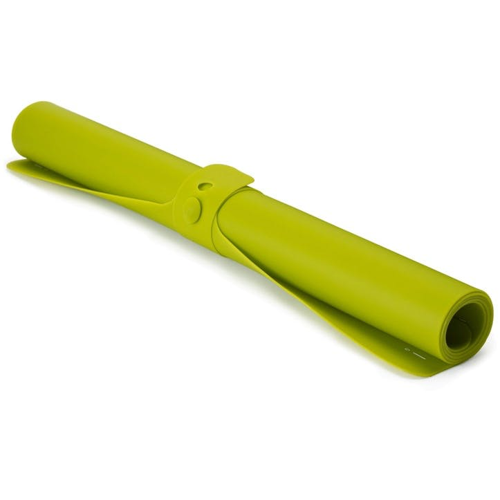 Roll-Up Silicone Pastry Mat, Green