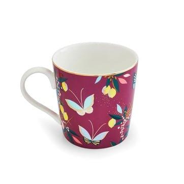 Orchard, Mug, Deep Mauve