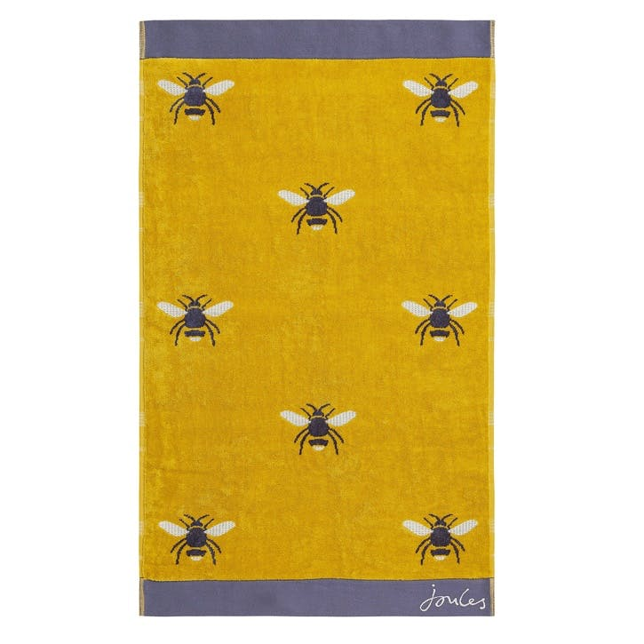 Botanical Bee Hand Towel