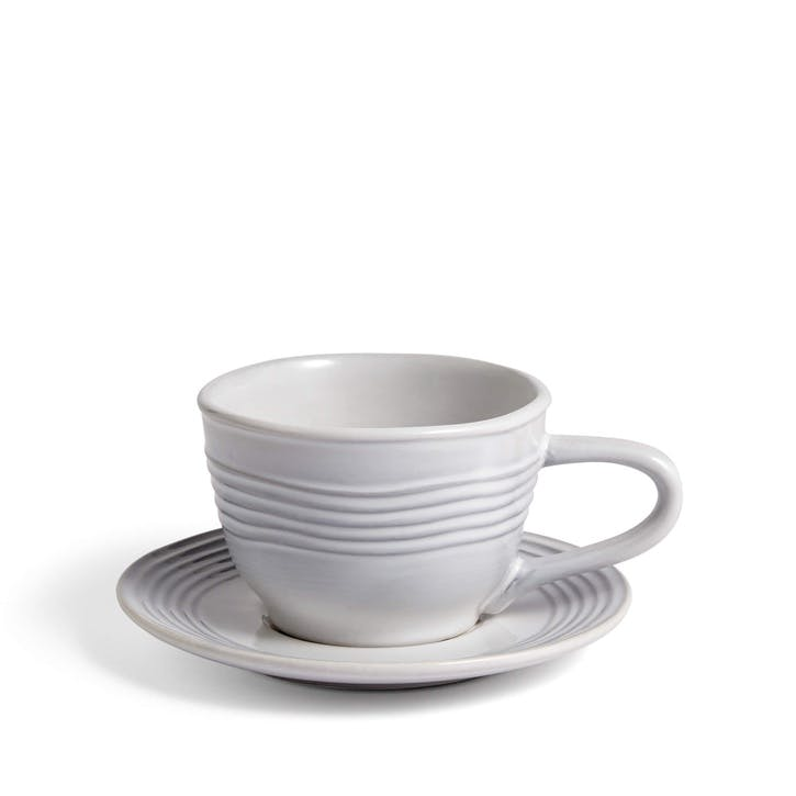 Everit Teacup and Saucer