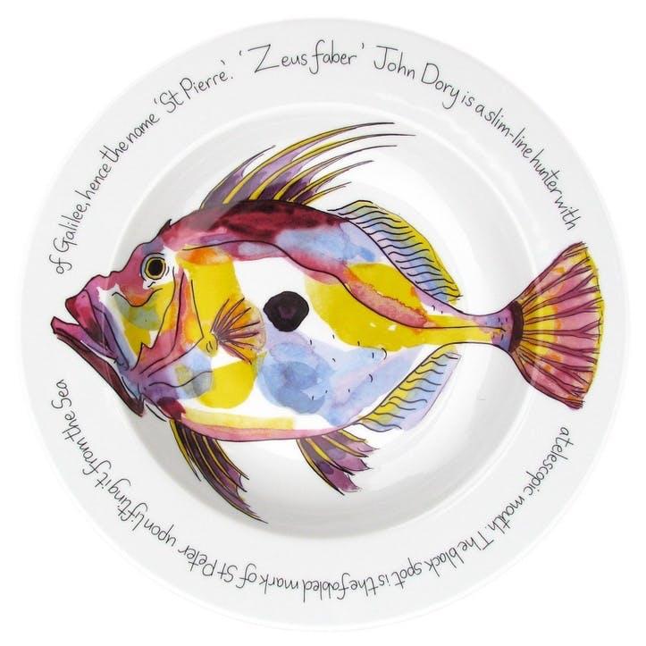 John Dory Flat Rimmed Plate - 30cm