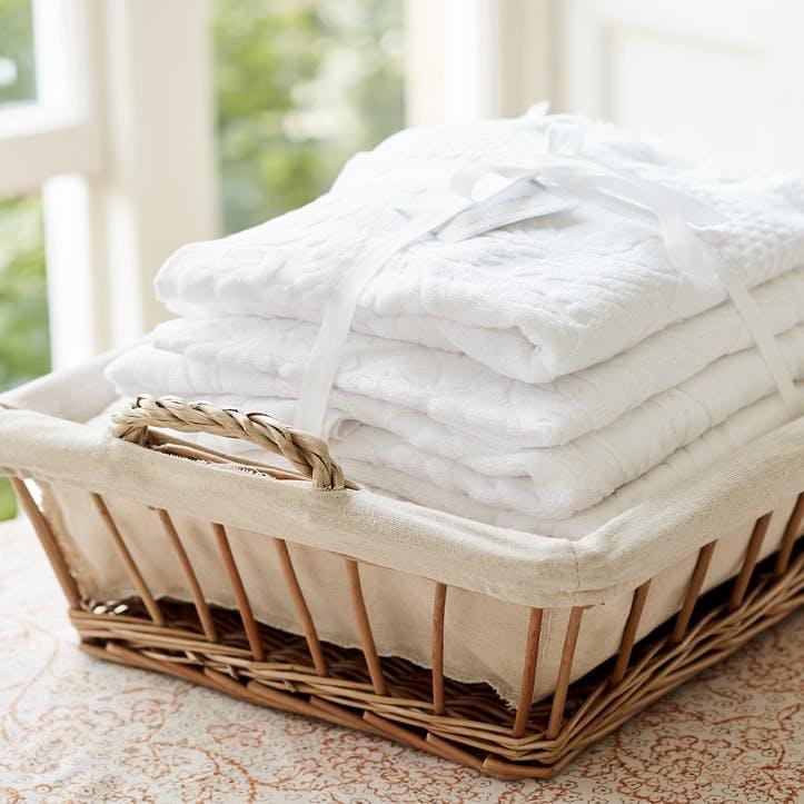 Luxury Towel Bale, White