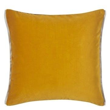 Varese Amber Velvet Cushion