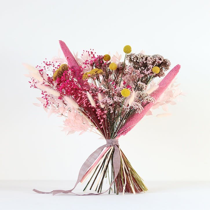 Hand-Tied Large Bouquet, Pink