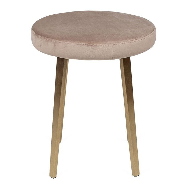 Crawford Dressing Table Stool Light Oak