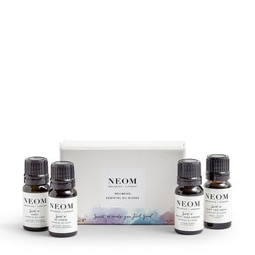 Wellbeing Essential Oil Blends Kit, 4 x 10 ml