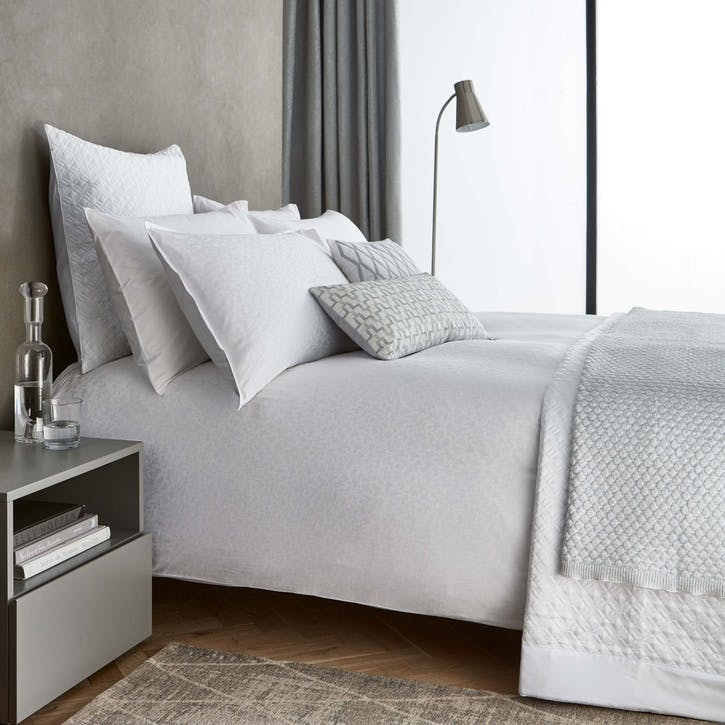 Aura Double Duvet Set, White