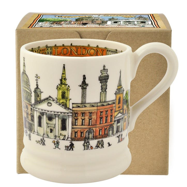 Cities of Dreams London Mug, 1/2 Pint