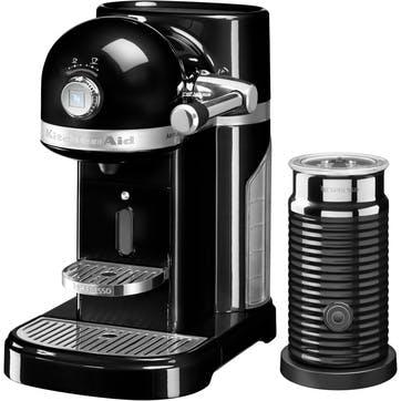 Artisan Nespresso With Aeroccino; Onyx Black