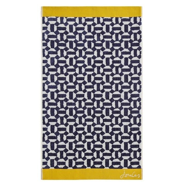 Honeycombe Geo Bath Sheet