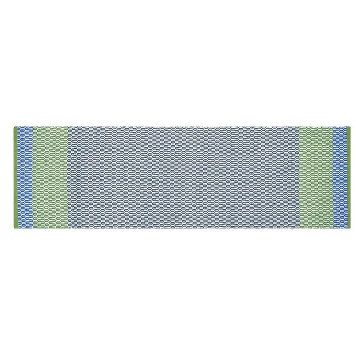 Cortez Cobalt Recycled Runner Rug