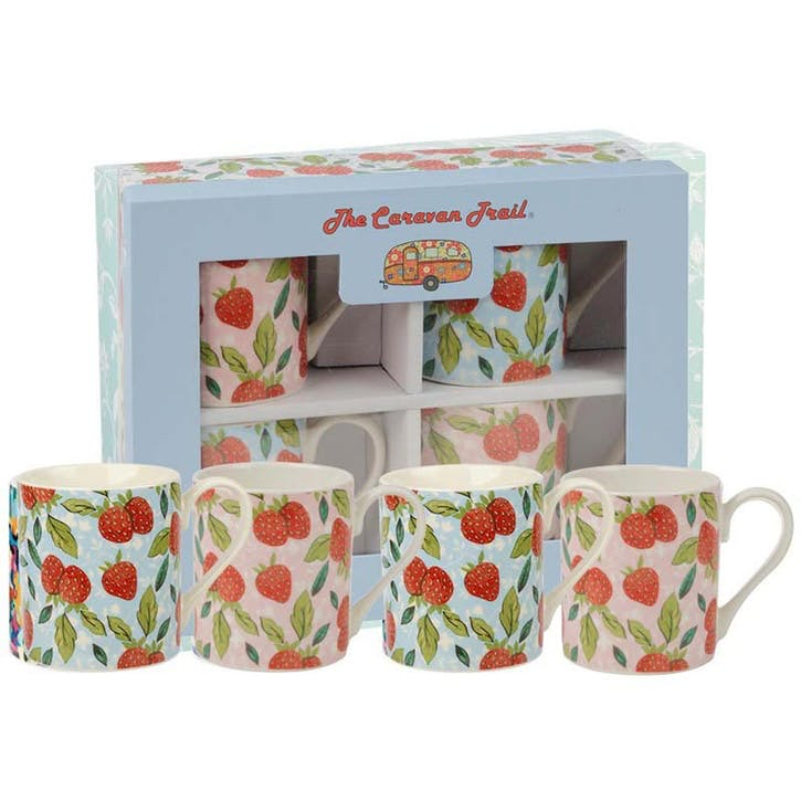 Stawberry Mug Set