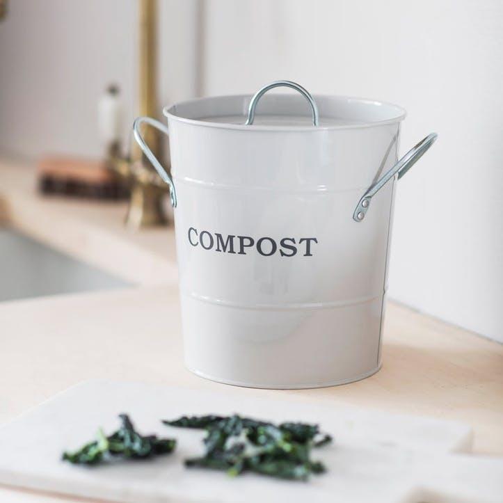 Compost Bucket, Chalk