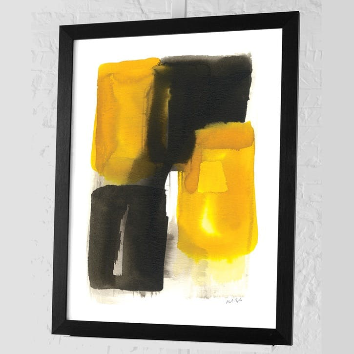 Michael Banks Proximity Framed Print - 68 x 88cm