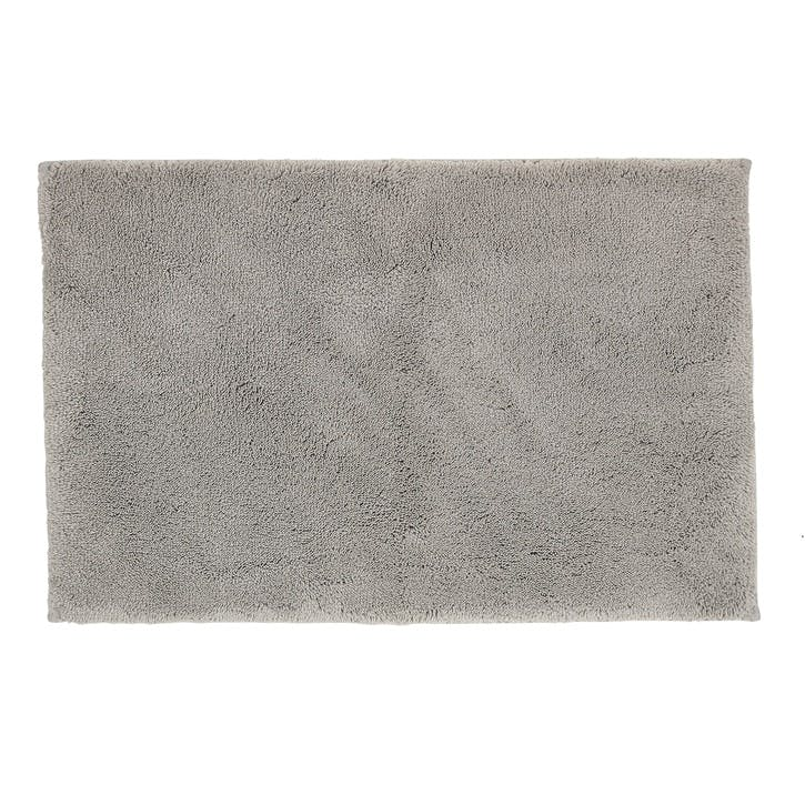 Deep Pile Bath Mat, Dove Grey
