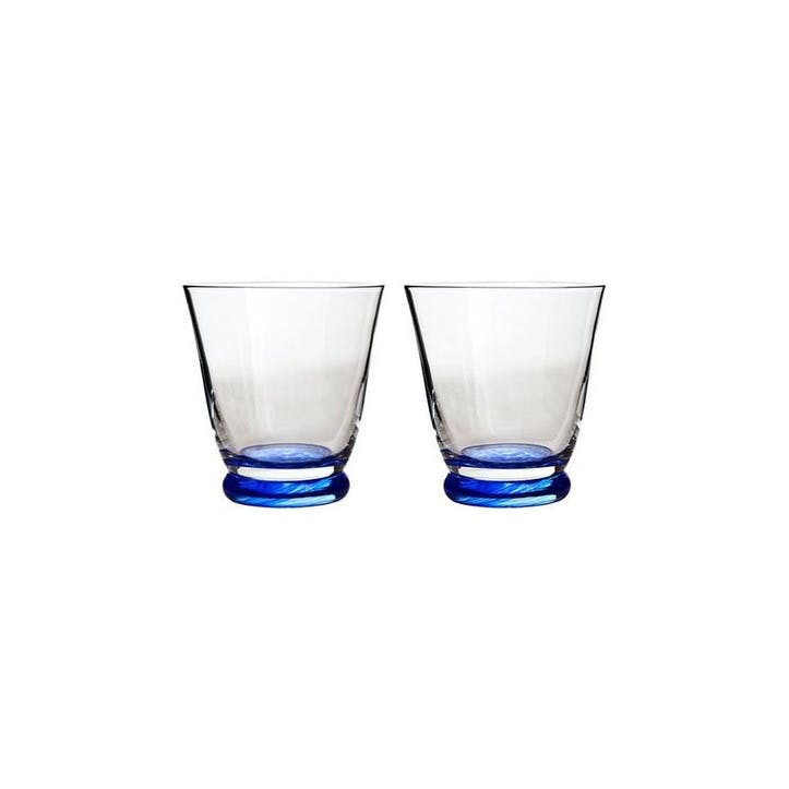 Imperial Blue Set of 2 Small Tumblers, 250ml