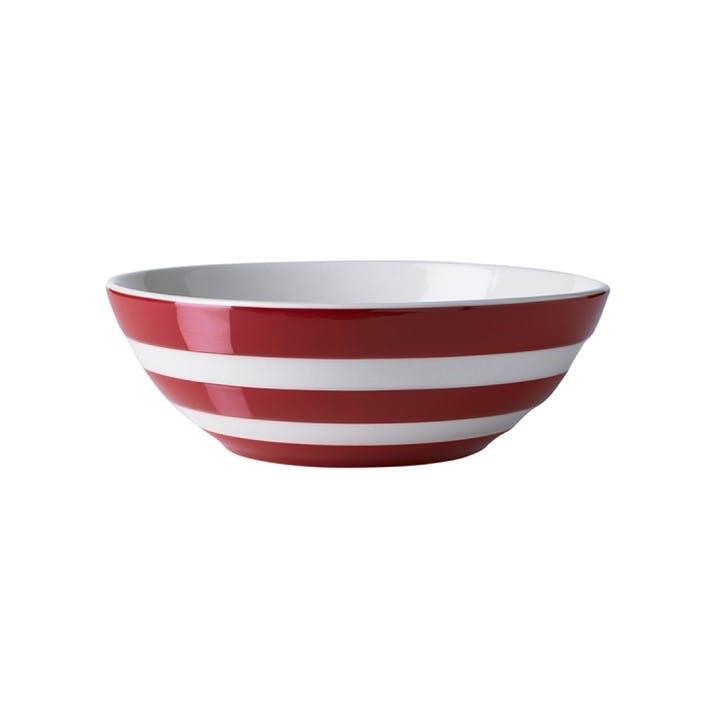 Set Of 4 Cereal Bowls, 17cm, Red