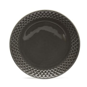 Coffee & More, Side Plate, 20cm, Grey