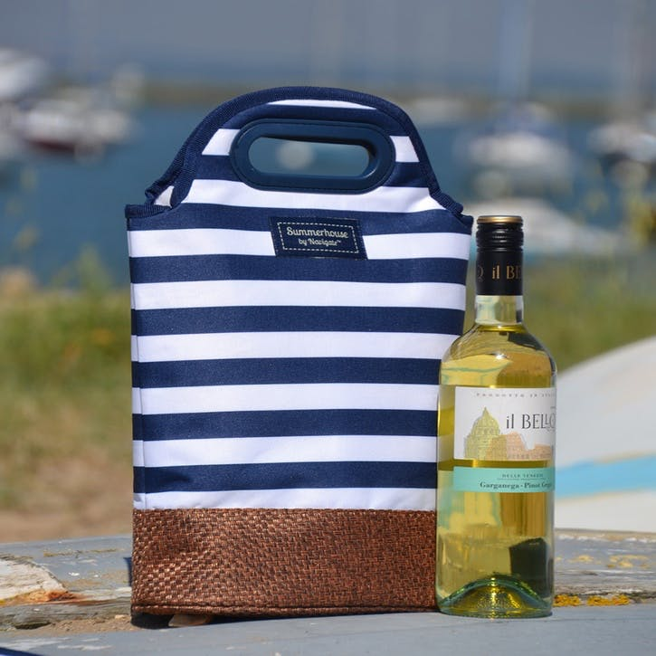 Summerhouse Coast Bottle Carrier, Navy