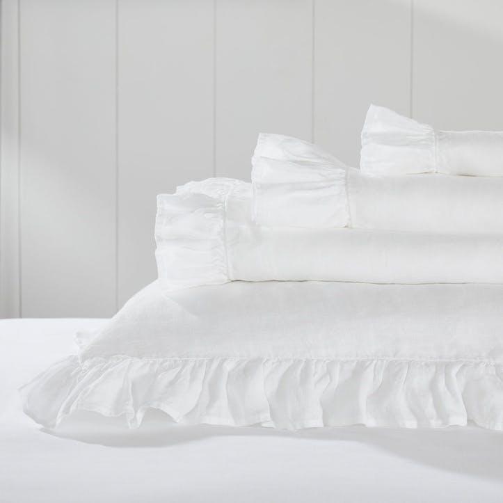Kara Hemp Linen, King Flat Sheet