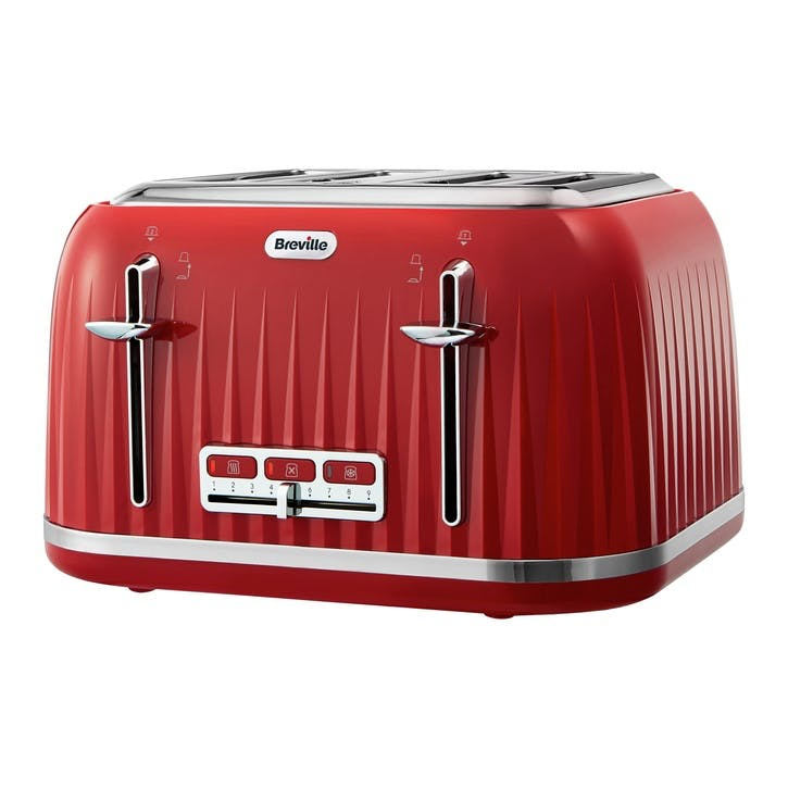 Impressions Toaster; Red