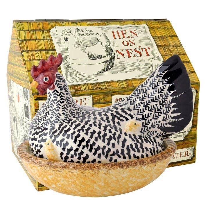 Black Toast 'Hen on Nest' Egg Store