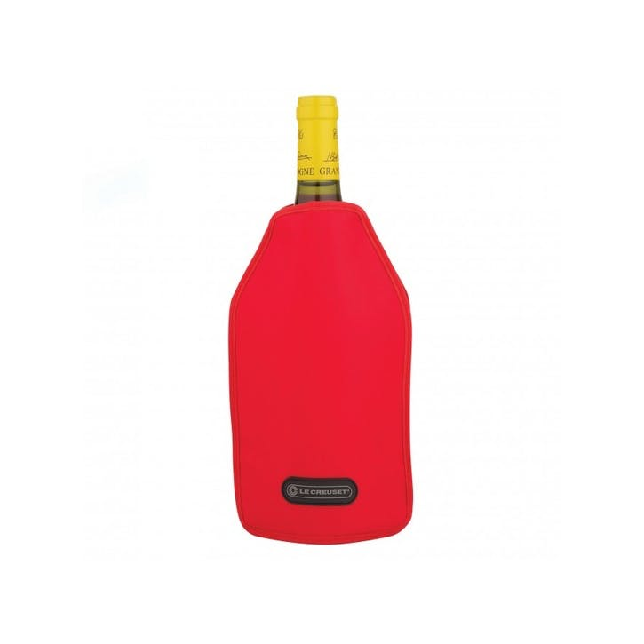 Wine Cooler Sleeve; Cerise