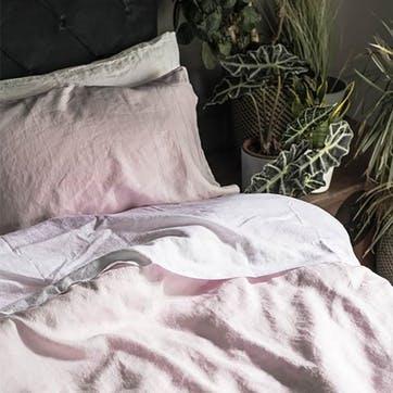 Super King Duvet Cover & Pillowcases, Blush Pink