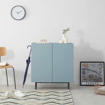 Mino, Hallway Storage Unit, Blue