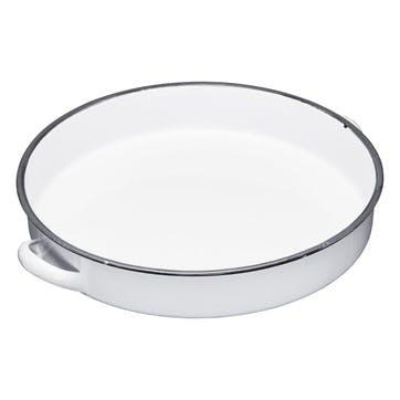 Enamel Round Tray