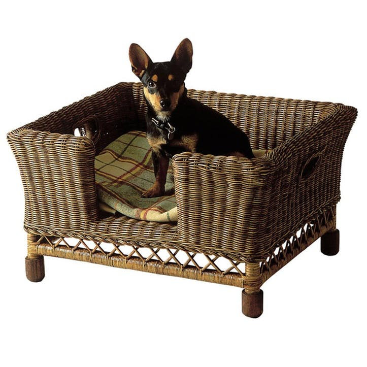 Rattan Mattaban Pet Bed, Small