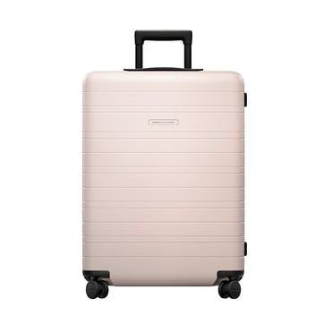 H6, Medium Check-In Trolley Suitcase, W46 X H64 X D24cm, Pale Rose