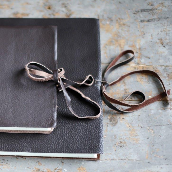 Kubu Leather Photo Album - Large
