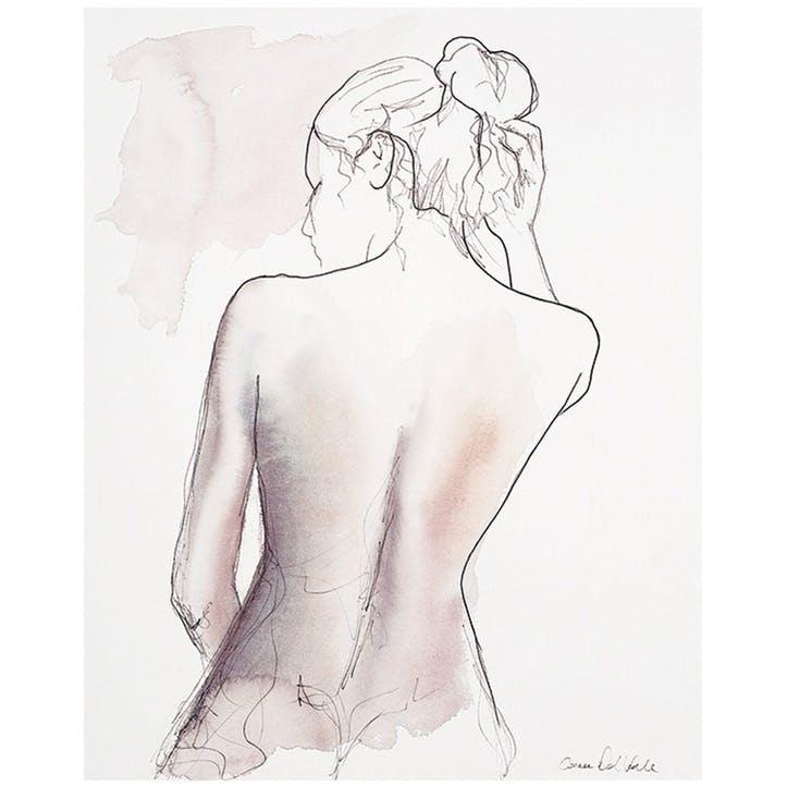 Aimee Del Valle Vendredi Canvas Print - 40 x 50cm