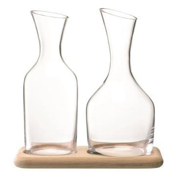 LSA Wine & Water Carafe Set